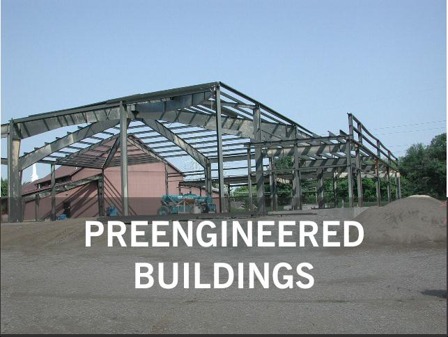 PREENGINEERED BUILDINGS.: