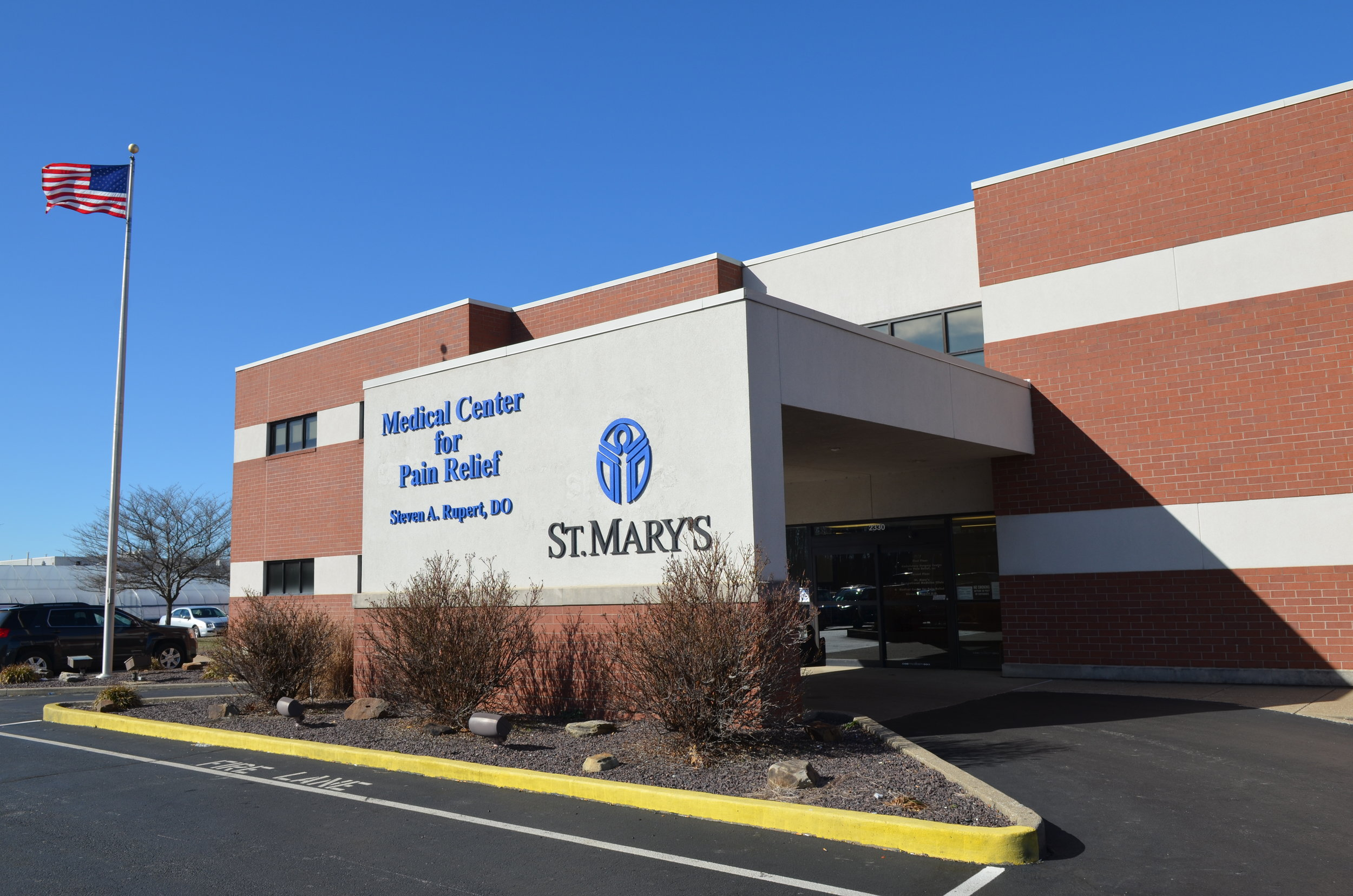 St. Mary's Medical Center for Pain Relief