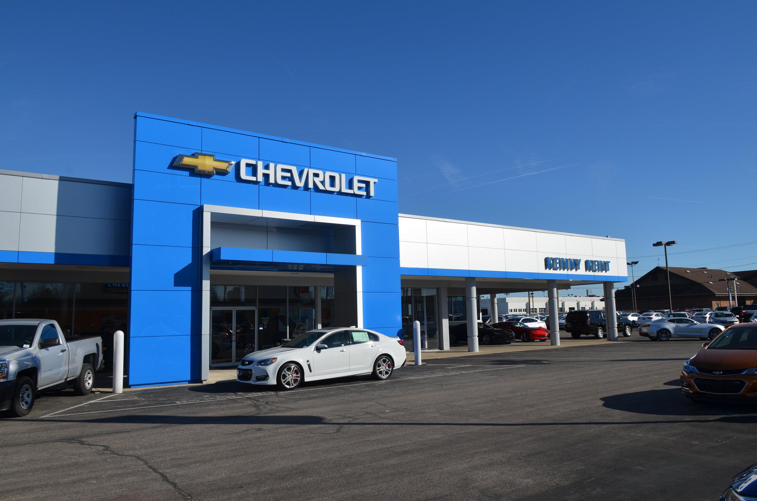 Kenny Kent Chevrolet >> Retail Empire Contractors