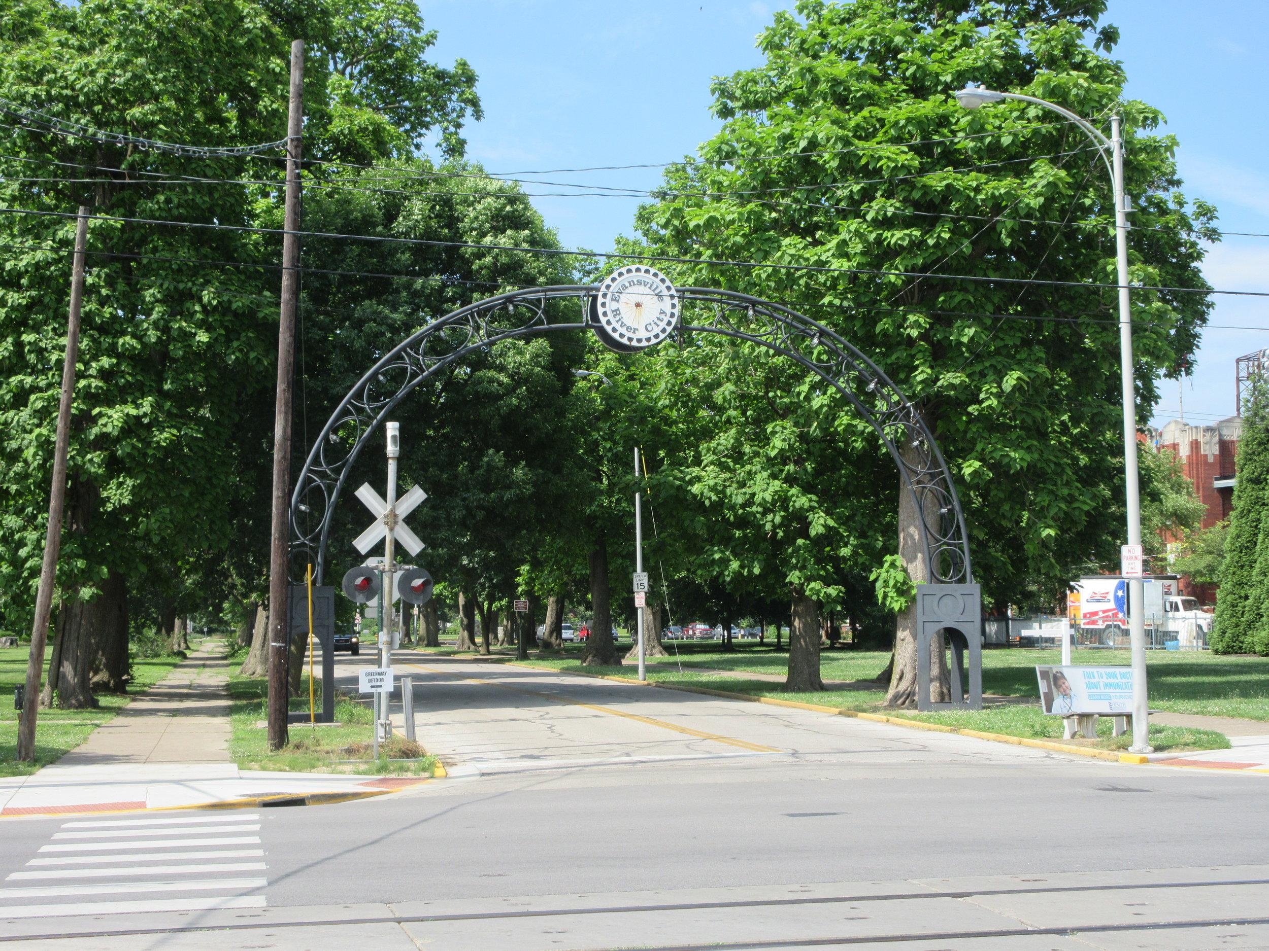 Evansville Main Street Archway