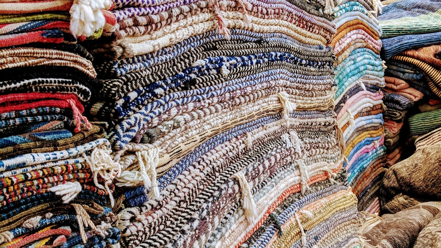 Photo taken by Casey on a visit to Morocco - what heaven for a rug-obsessed interior designer!