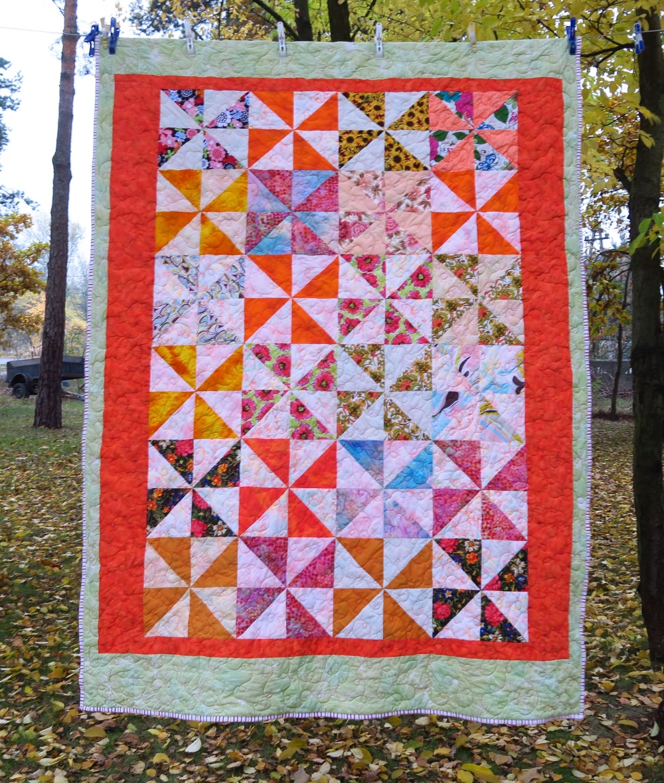 105 Pinwheels Donated top