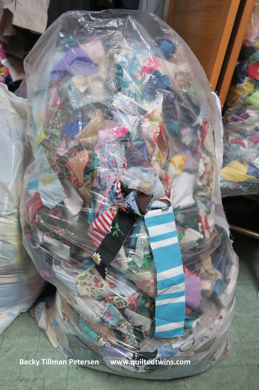 """This bag is just an example. I had a full bag like this one which holds 2.5"""" strips - but the other was 2"""" strips."""