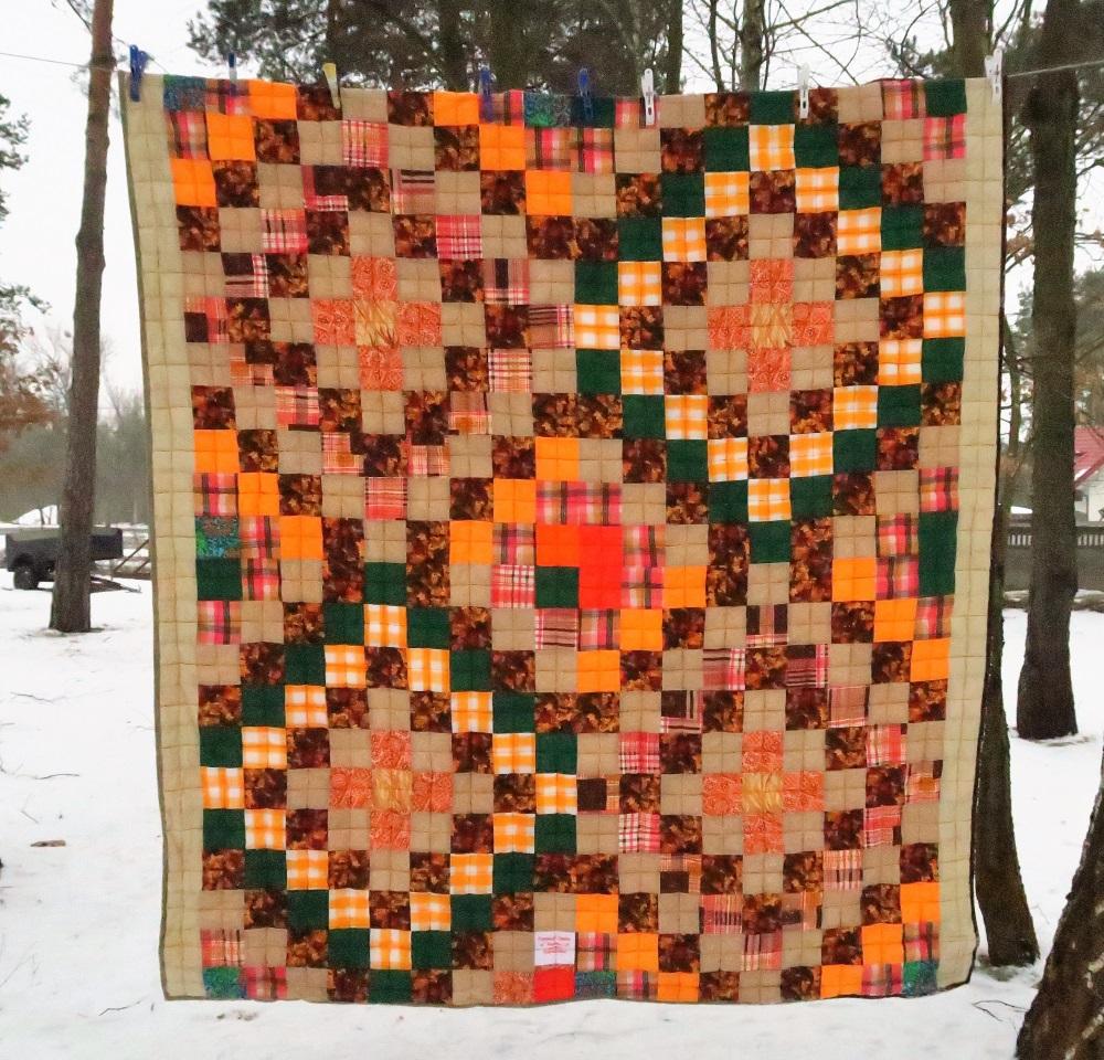 10 Orange and Brown Around the World  Donated top
