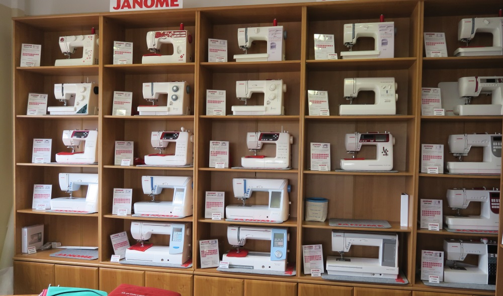 Find your favorite Janome here!