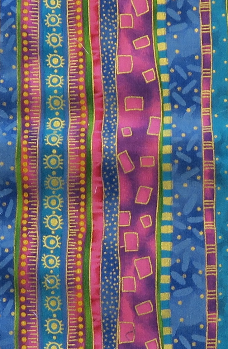 Close up so you can see this beautiful fabric!