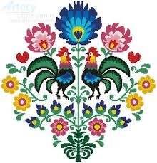 A Polish folk motif