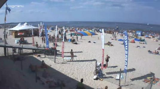 If the temps even approach hot - people head for the Polish beaches. The water in the Baltic Sea never really gets warm - so mostly people just run in the water and come back out quickly. To be sure they have a warm vacation, many Polish people go abroad to Spain, Turkey or even Egypt.