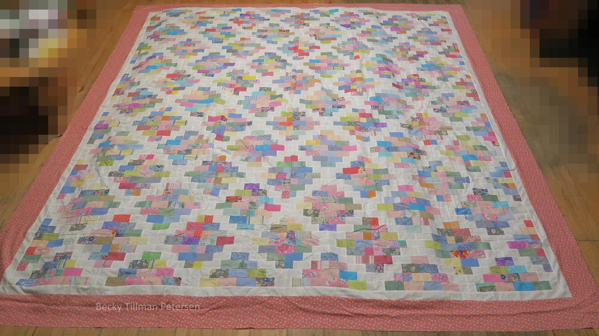 """Number 60 in my 2"""" series -  Mosaic Variation ."""
