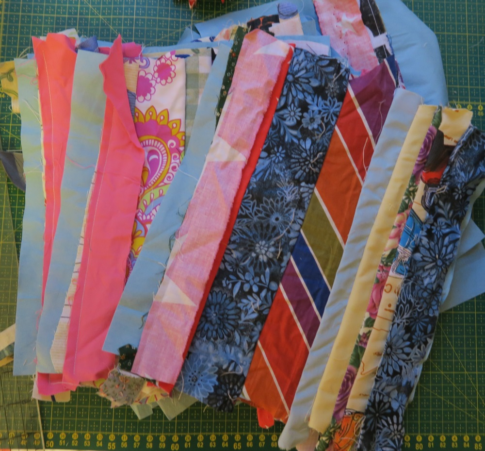 """Somewhat partially finished 10"""" string blocks"""