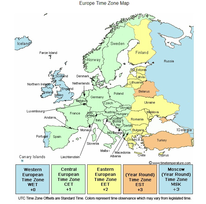 time zone map from timetemperature.jpg