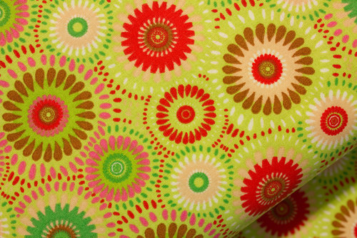 Green Mix Fabric