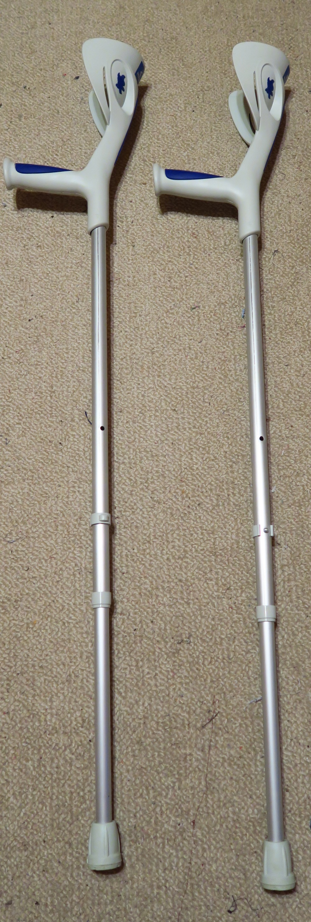Typical crutches, Polish style