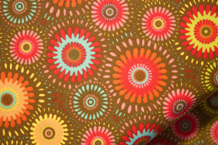 Brown Mixed Fabric