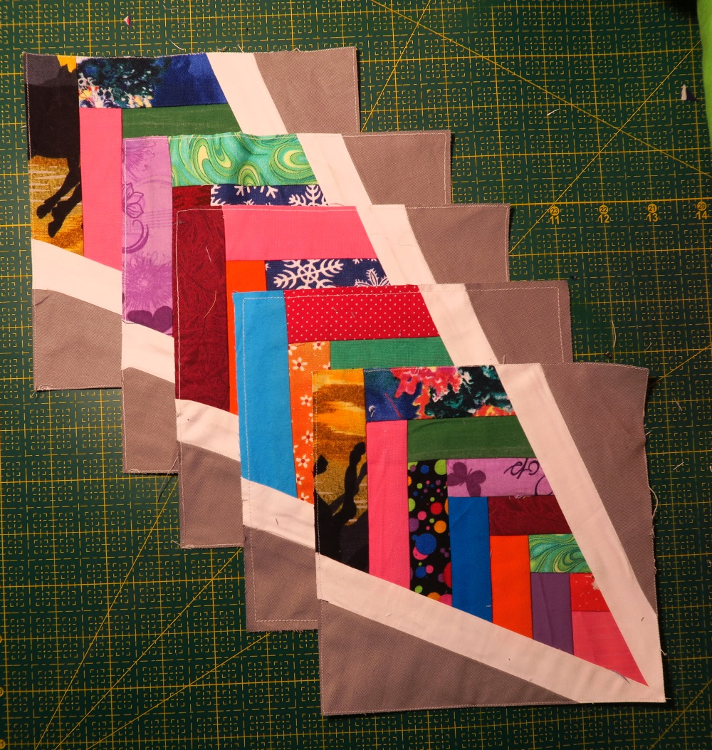 """My total number of blocks finished. I'm just getting started on this particular project. It is definitely a """"long term"""" one. I expect it to pretty much take the rest of the year if not longer."""