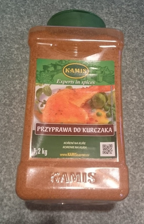 I bought two of these.  We don't make it to Makro very often--in fact it's been over a year since the last time we were there.  This amount of spice cost 34,55 Polish zloty or $10.37. I use this particular spice for chicken strips, baked chicken, pork chops, etc.