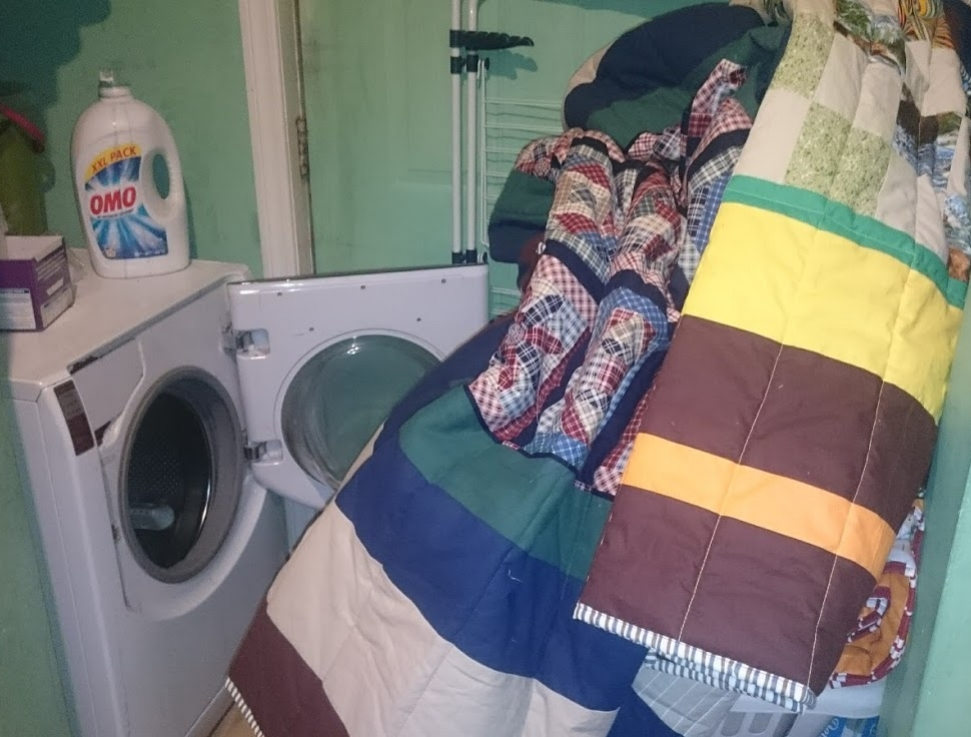 I will wash each quilt after it is bound.