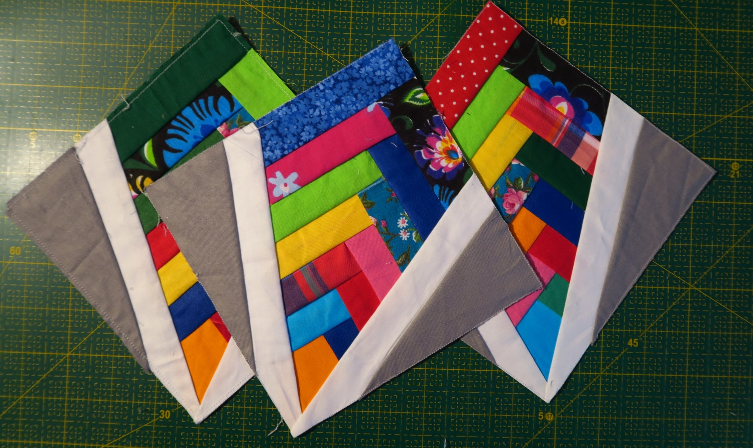 """This is what I made this weekend. I'm pulling from my """"yet to be trimmed down scraps"""" for these."""