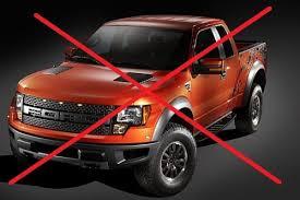 American trucks aren't used in Eurpoe