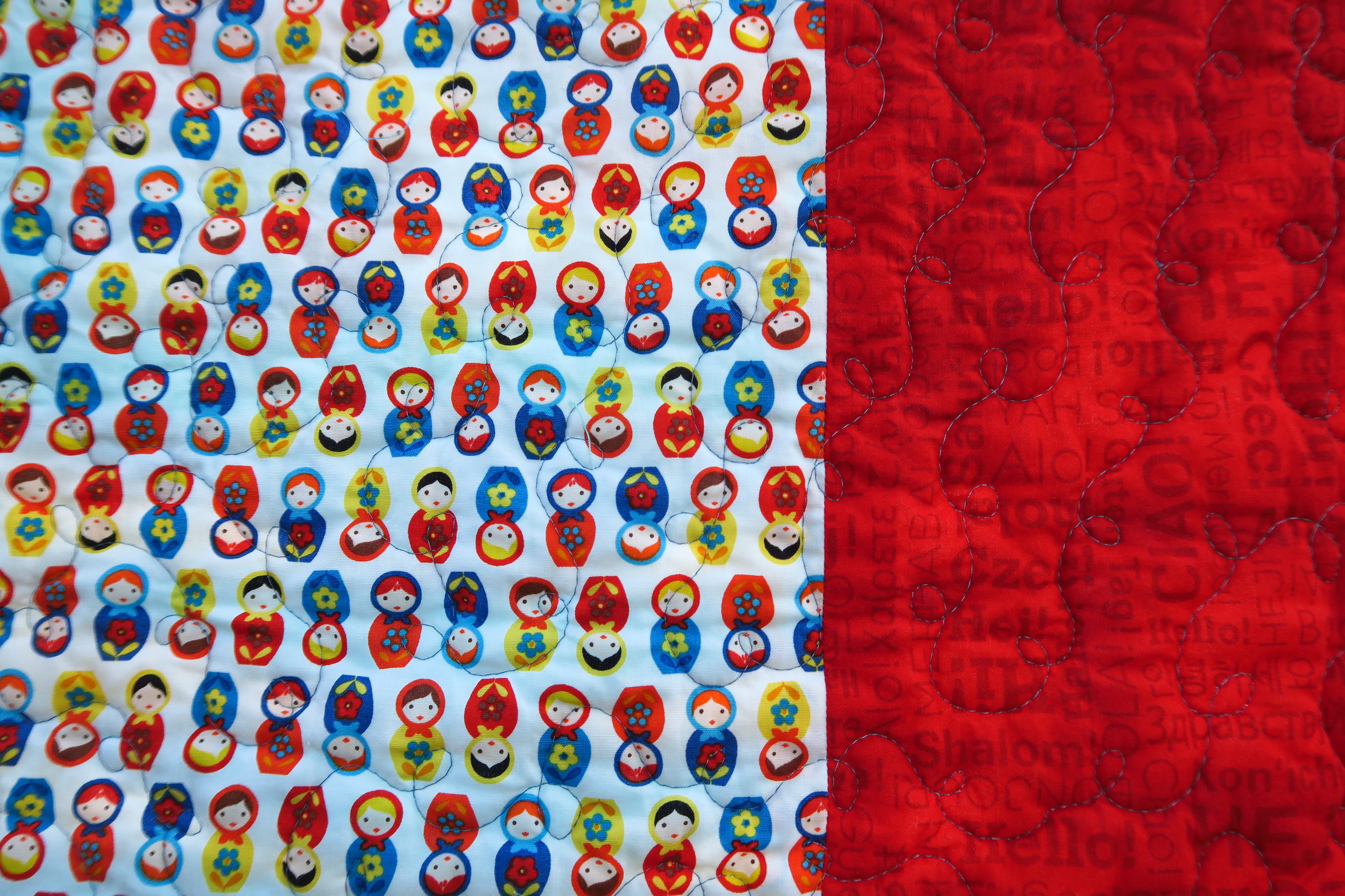 If you don't have your Russian doll fabric yet, be sure to get it  here  - and for onlyl $4.99/yard