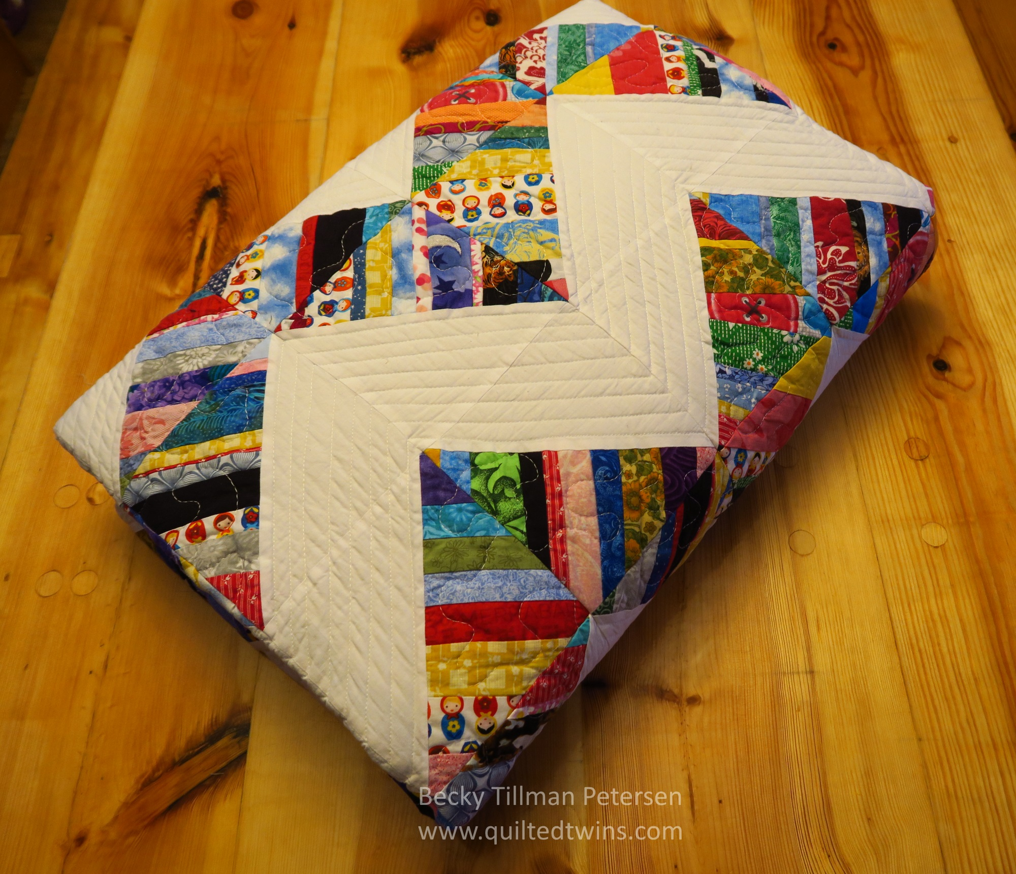 The quilt roll