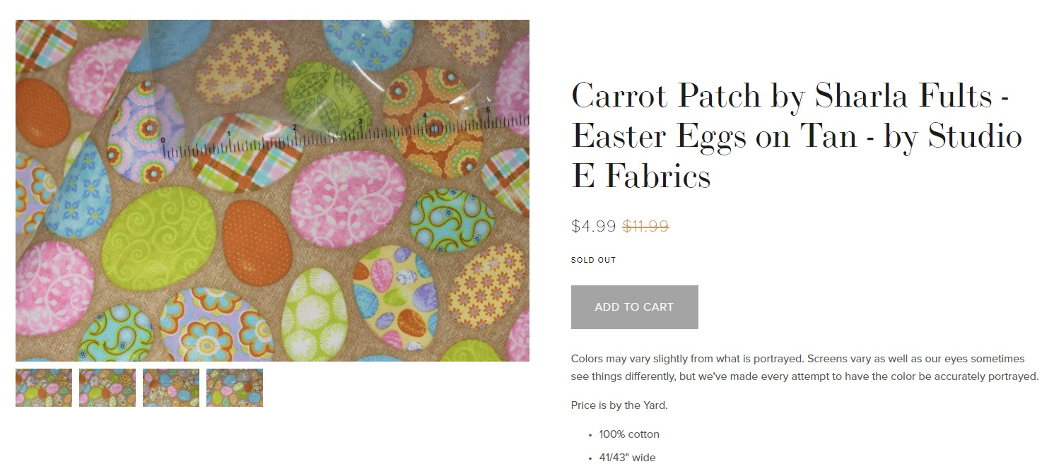 You can get this fabric by  clicking her e.