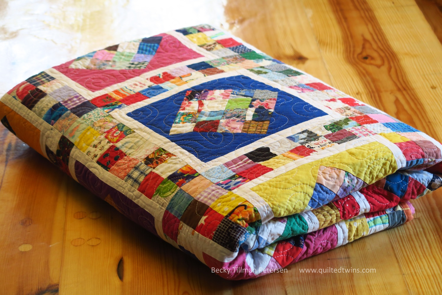 The quilt roll!