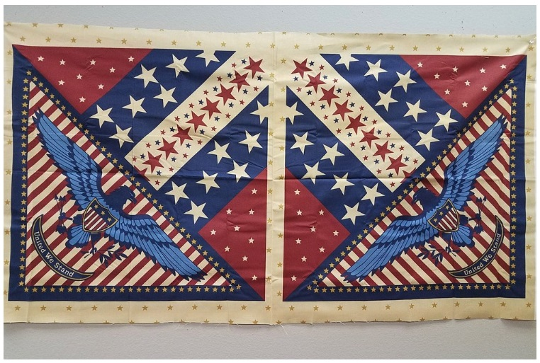 Quilts of Valor Pillow Panels - you could use them however you wish, though! Only $6 for the two of them!