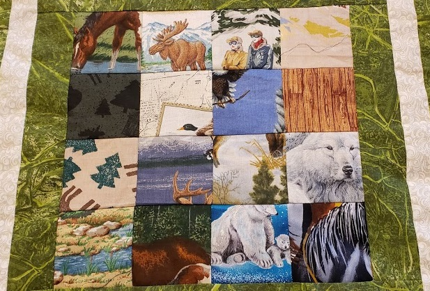 Here's a close up of the squares.