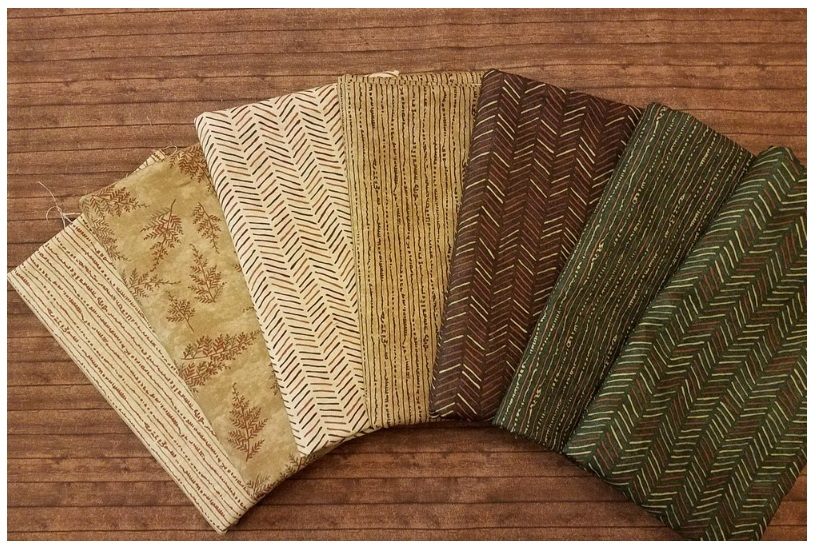 Autumn Reflections - 7 piece full yards