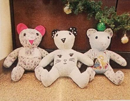 - These bears will be hugged and loved
