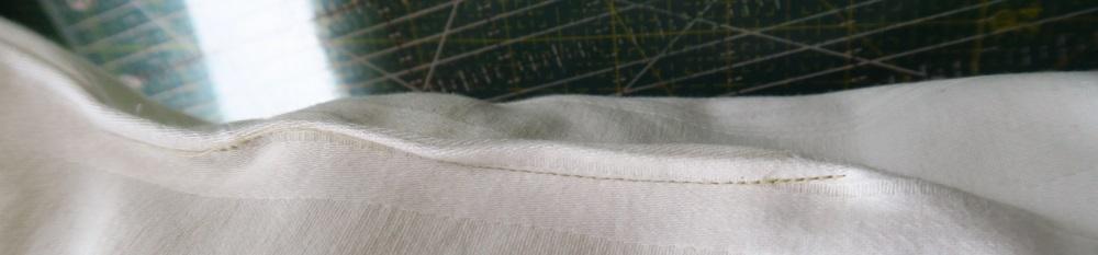 Here's where i sewed it shut.
