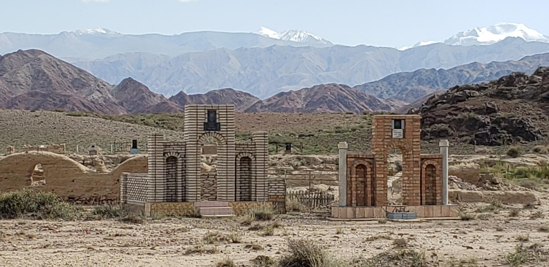 Muslim cemeteries look pretty elaborate.