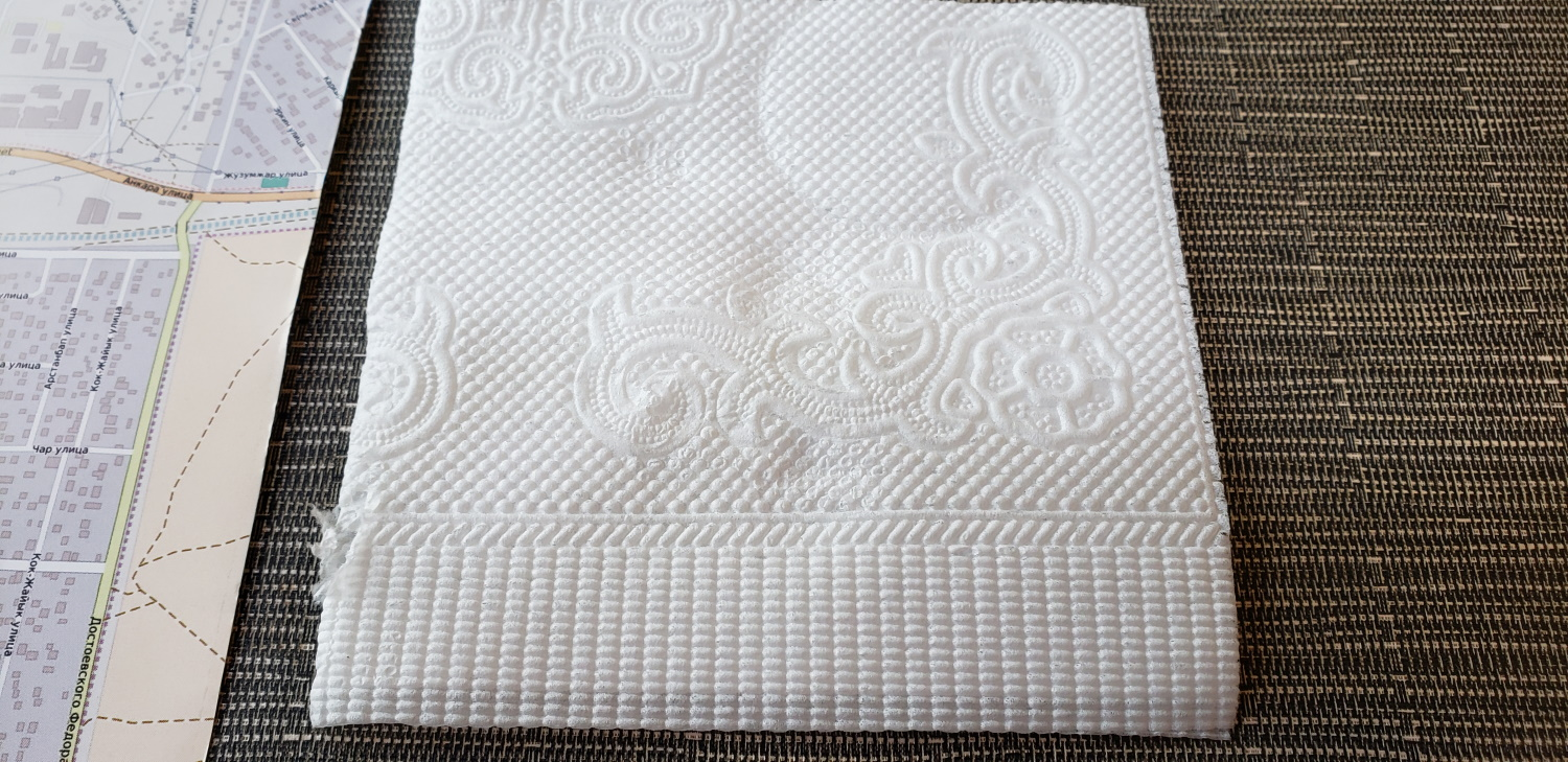 Such a beautiful napkin!  Like trapunto or embossing!