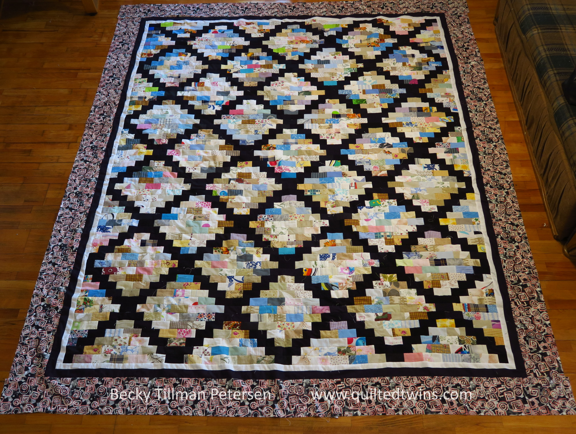 #80 Mosaic in Reverse