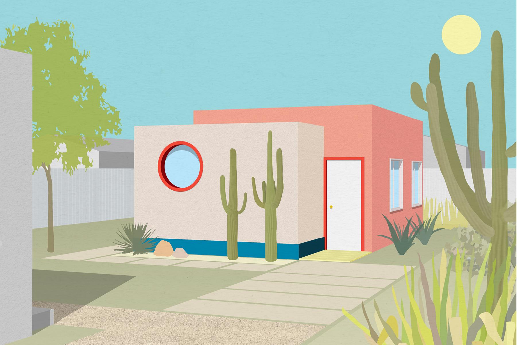 1-Bedroom Garage Conversion + Modern-Inspired + Warm Neutral