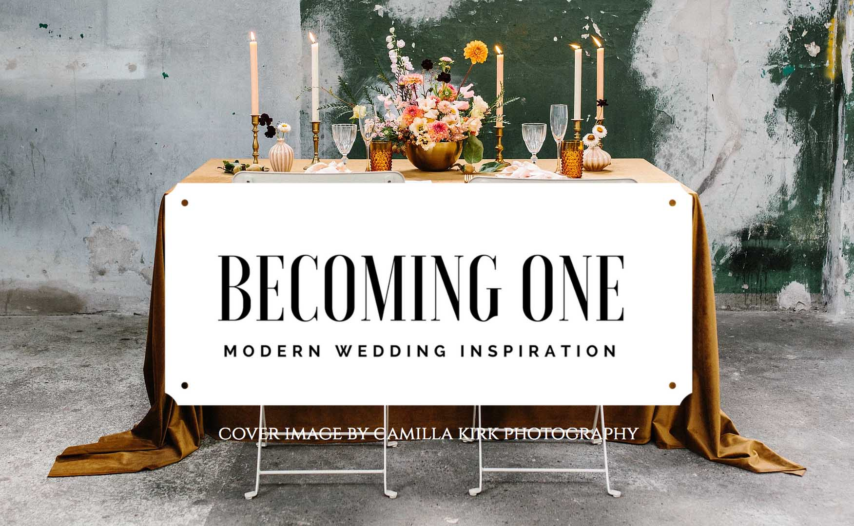 becoming one wedding magazine