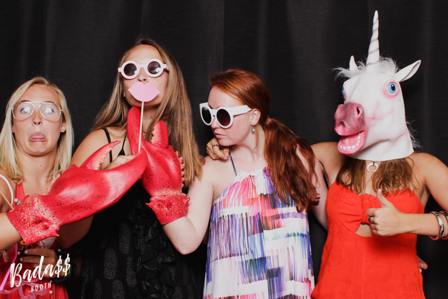 Country Club of Virginia photo booth