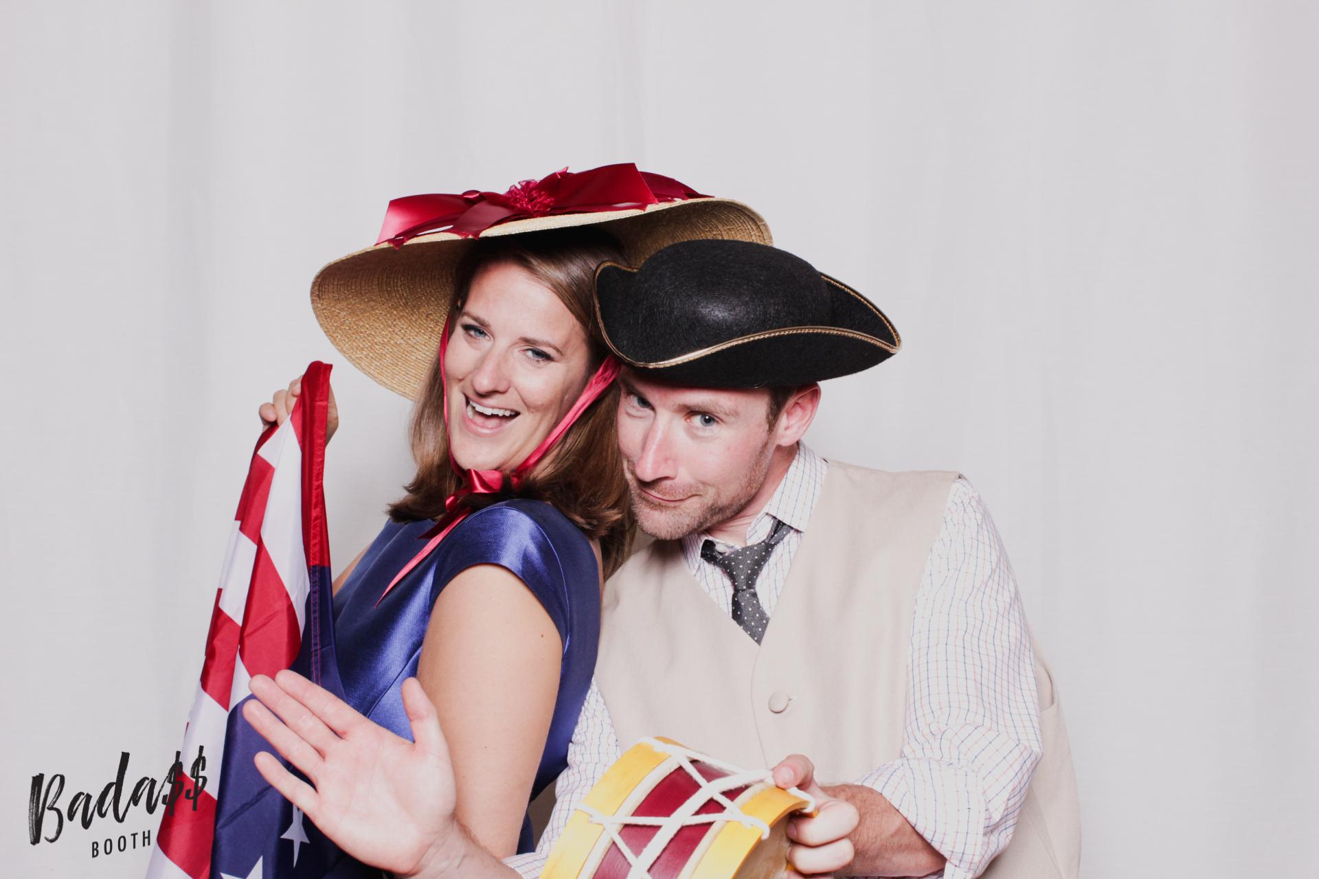 Williamsburg Lodge wedding photobooth
