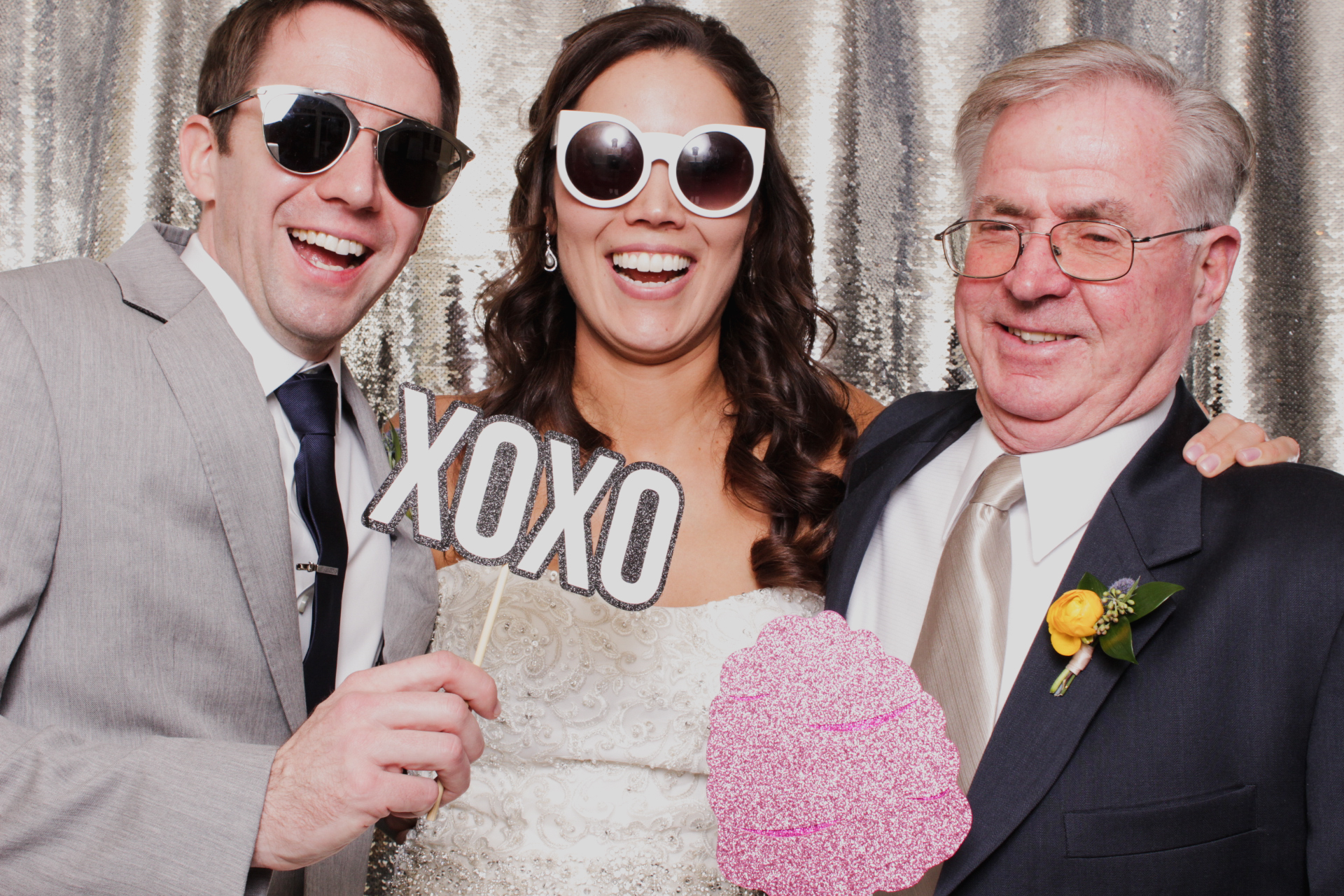The Mill at Fine Creek Wedding photo booth