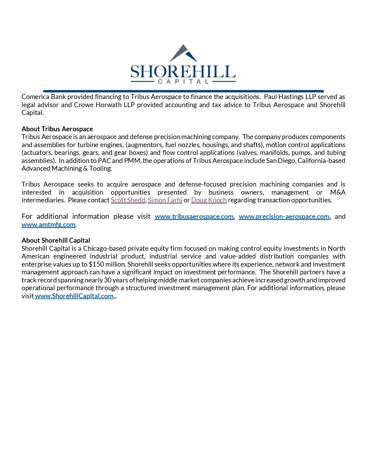Press Release - Tribus Aerospace Acquires Precision Aerospace Corporation and Precision Micro Mill - vFINAL-page-002.jpg
