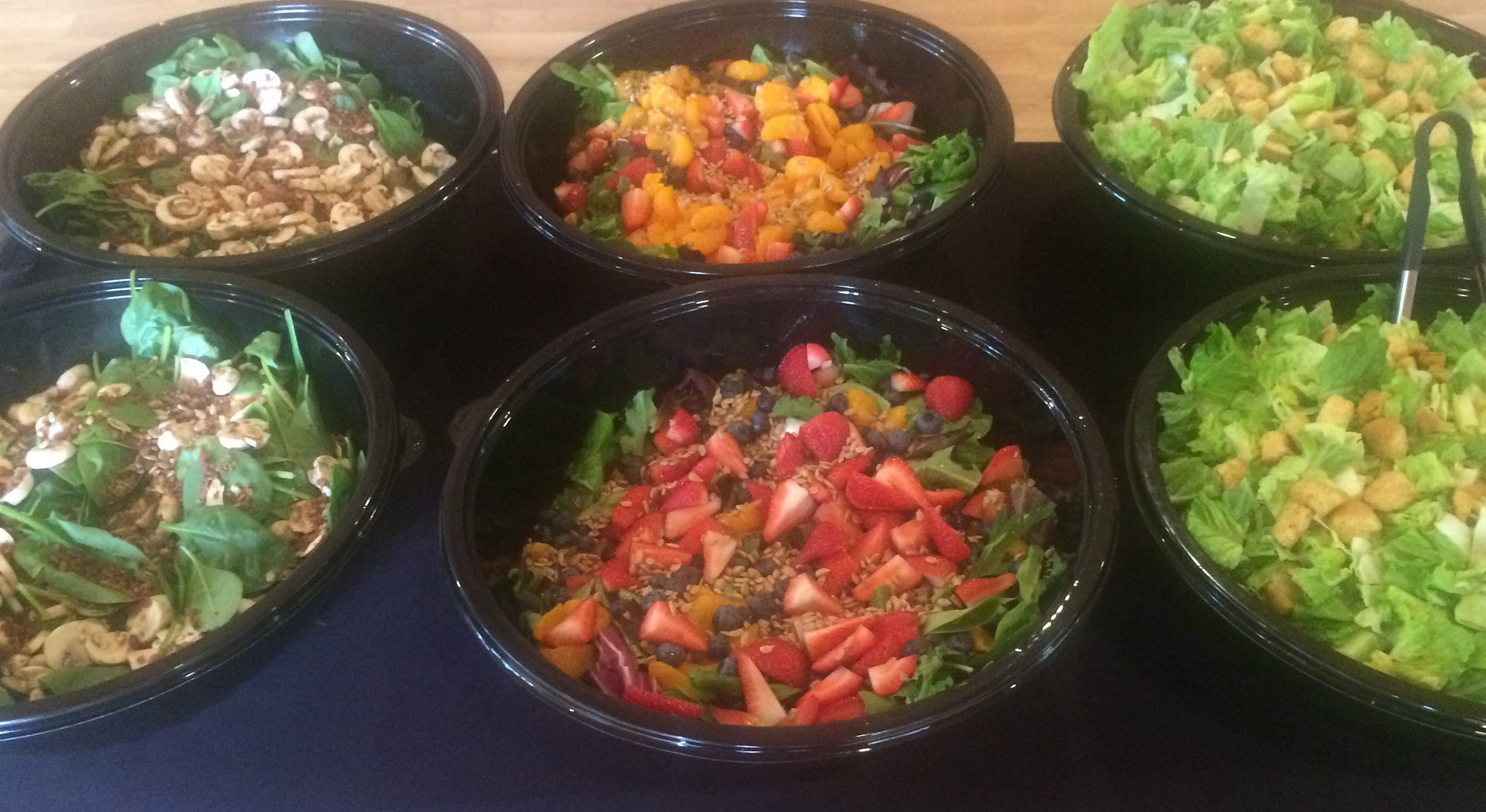 Dogfather Catering Salads Gluten Free Vegetarian Event Food