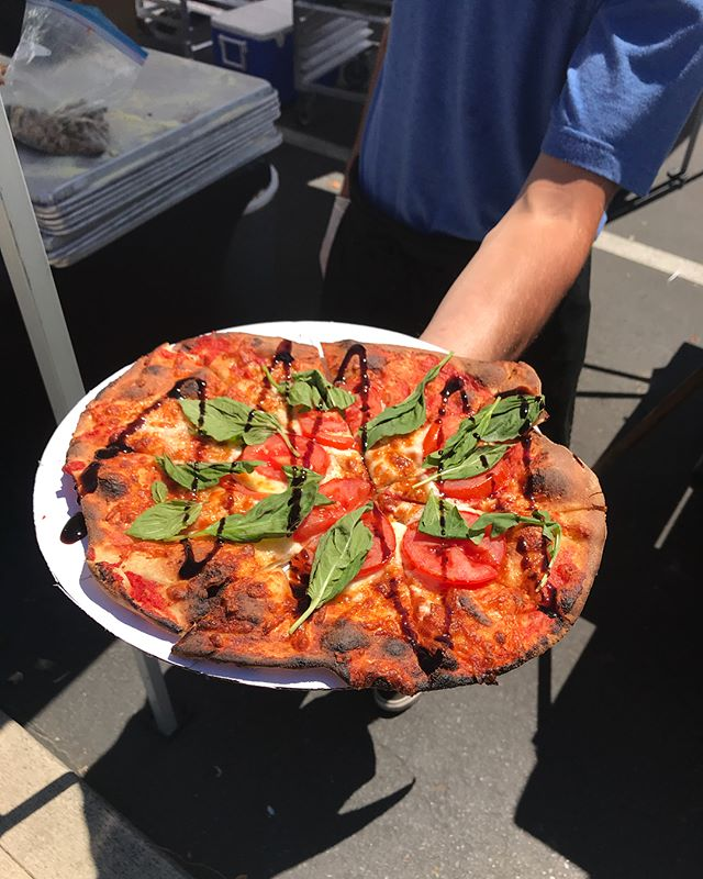 """Thanks so much to Seattle Genetics for having us for their own """"Bite of Seattle Genetics"""" event! We served up bite sized portions of our wood fired pizzas and full sized sausages! It was a blast!"""