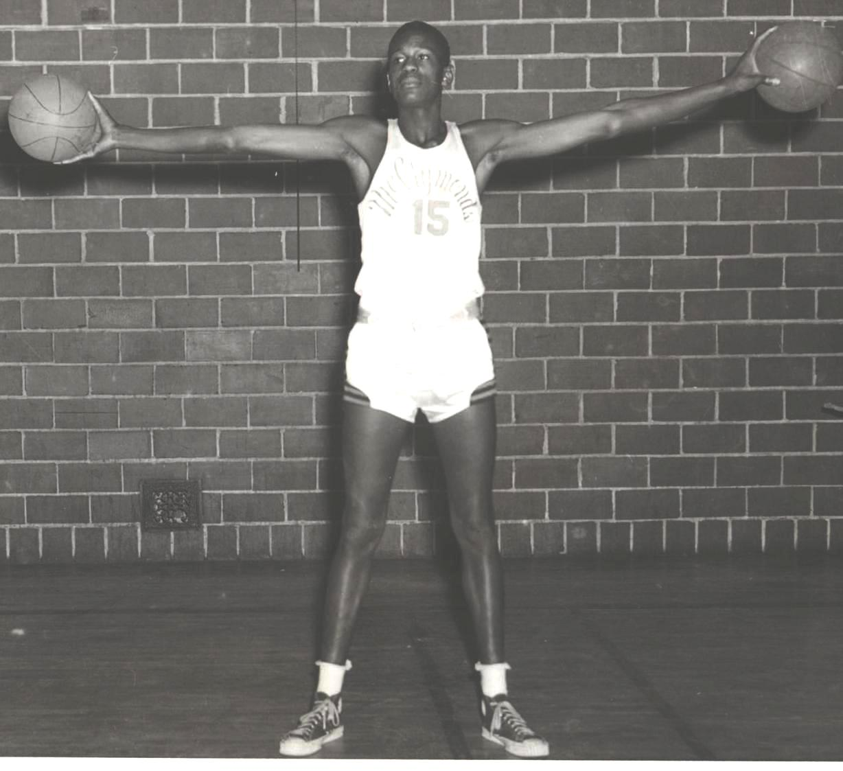 Young Bill Russell, The Legend