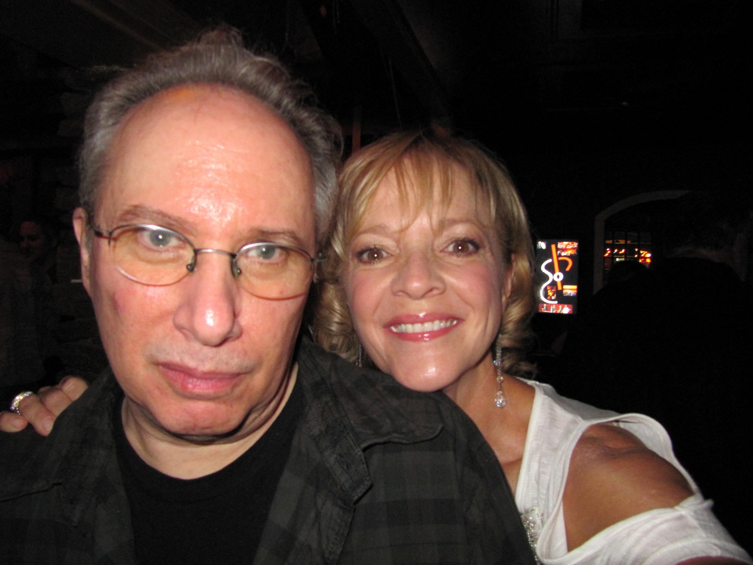 Arista NY A&R executive & friend Mitchell Cohen & Ramona @ Arista Nashville 20th Year Reunion.JPG