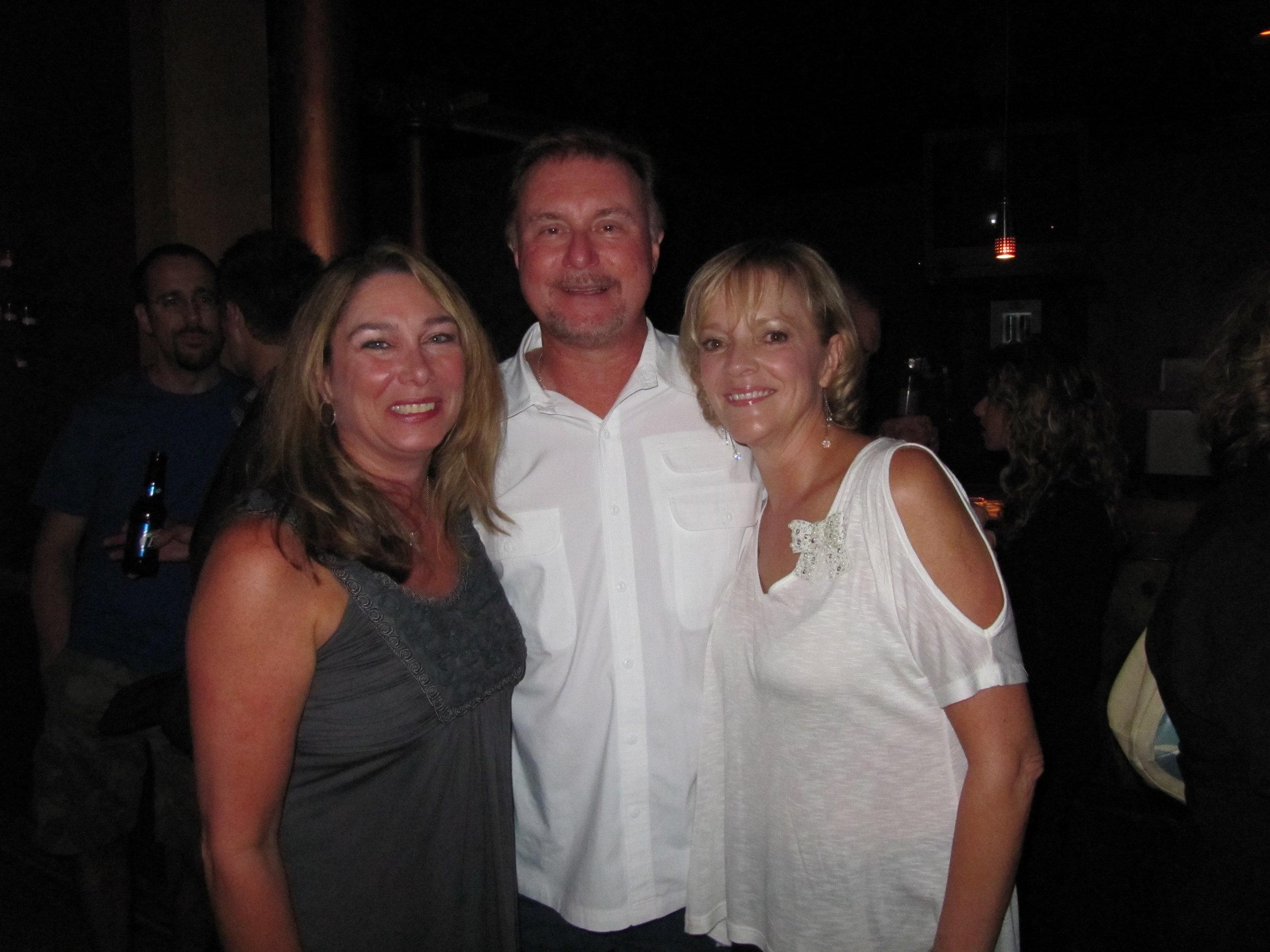 Best friend Debroah Crystal, former Arista Nashville executive Allen Butler & Ramona @ Arista 20th Year Reunion 2011 (1).JPG