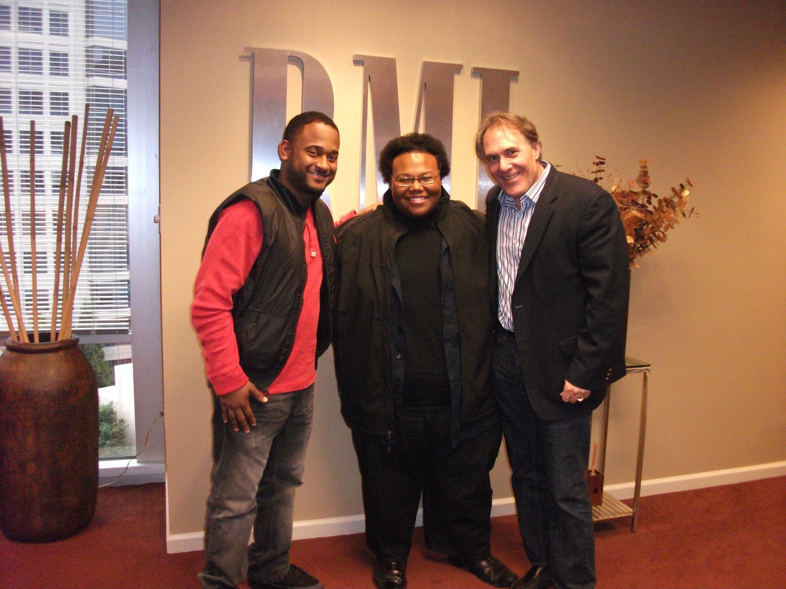 Byron Wright (BMI), Samuel D. Sanders (Writer:Artist), Preston Sullivan ( Manager) at BMI Atlanta.JPG