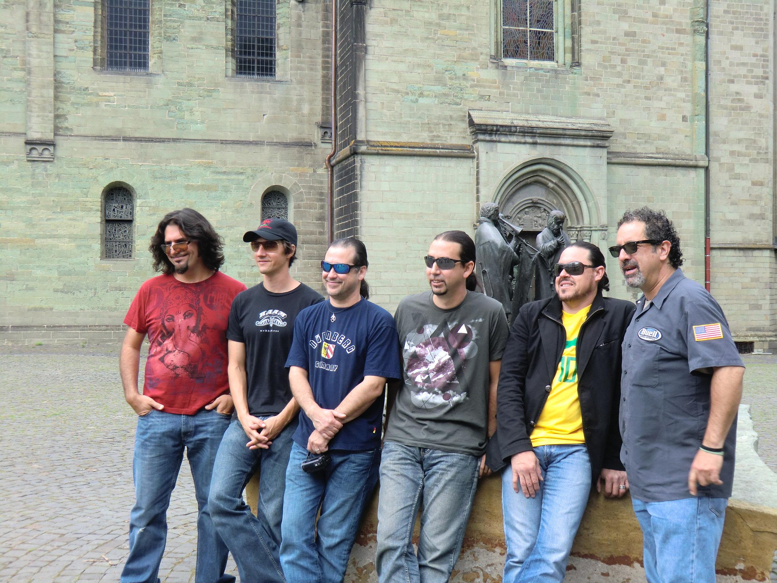 Del Castillo on tour in the Heart of Germany summer 2012.JPG