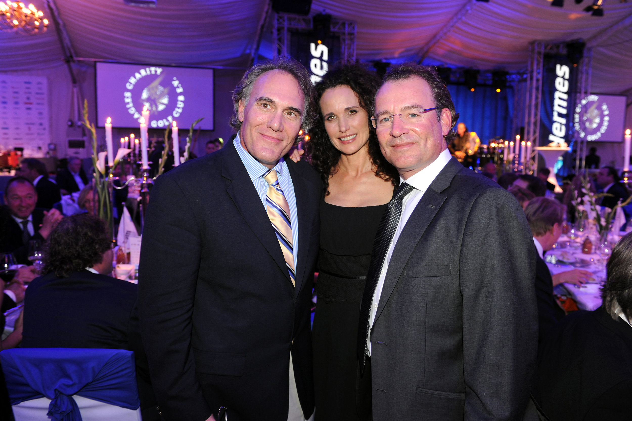 Preston Sullivan, Andie MacDowell and Markus Klamert.JPG
