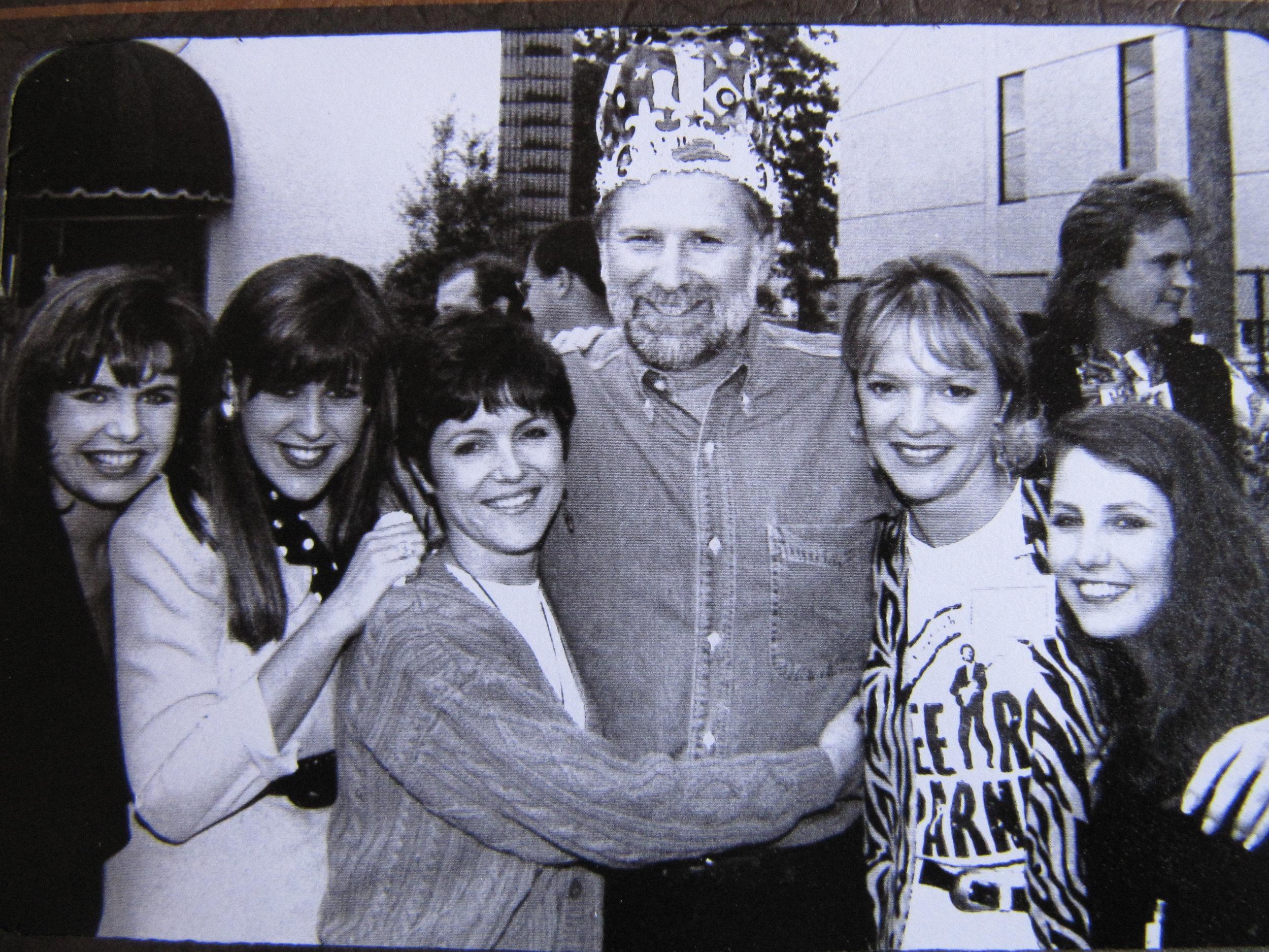 Ramona, Ronda Atkins, Cheri Cranford, Vanessa Parker, Tim DuBois, Athena Fortenberry @ Tim's 50th Brithday Party.JPG